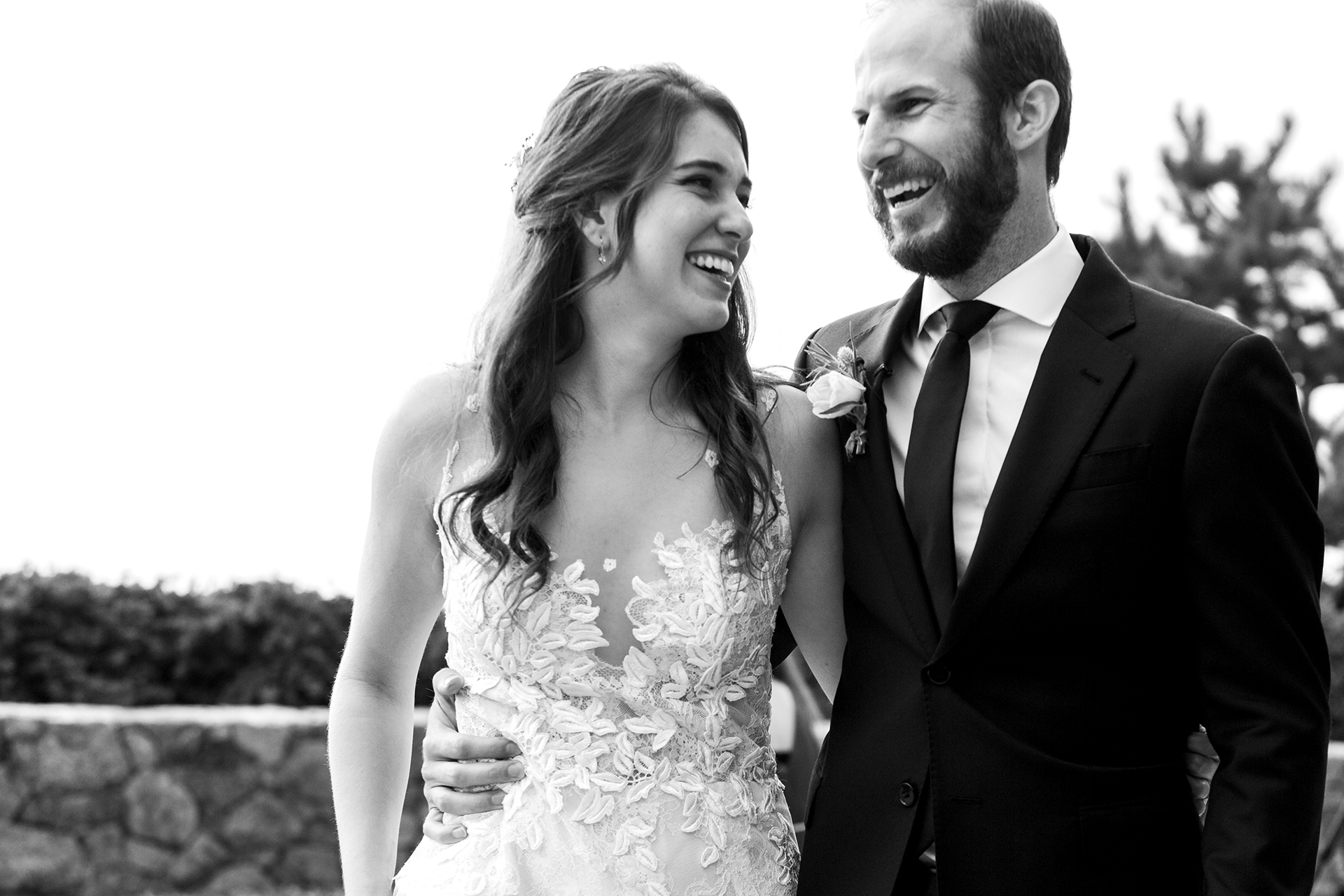 Wind and Sea Big Sur, CA Wedding Home Rental Pics |  this couple was elated to finally tie the knot