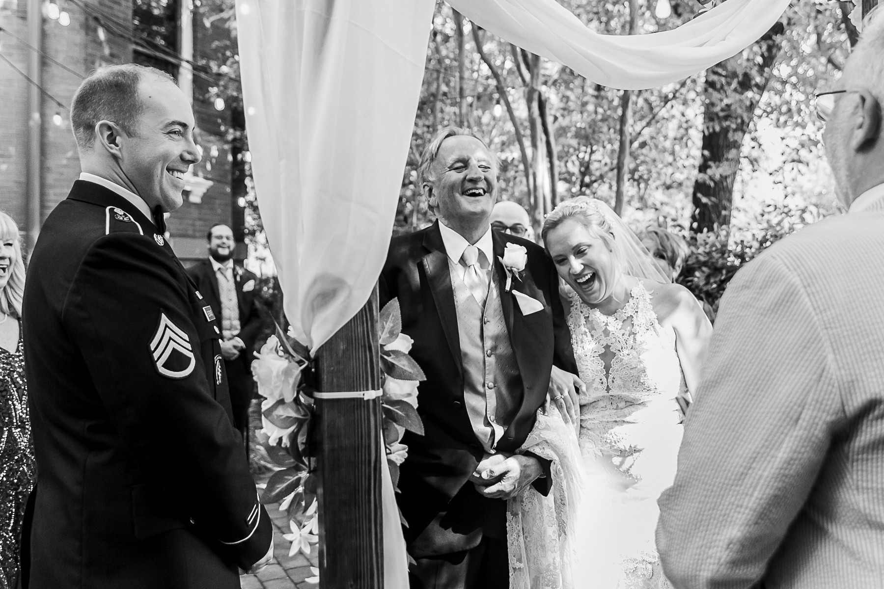 Kehoe House Reception Venue Photos | Dad stumbles over the words he was supposed to say