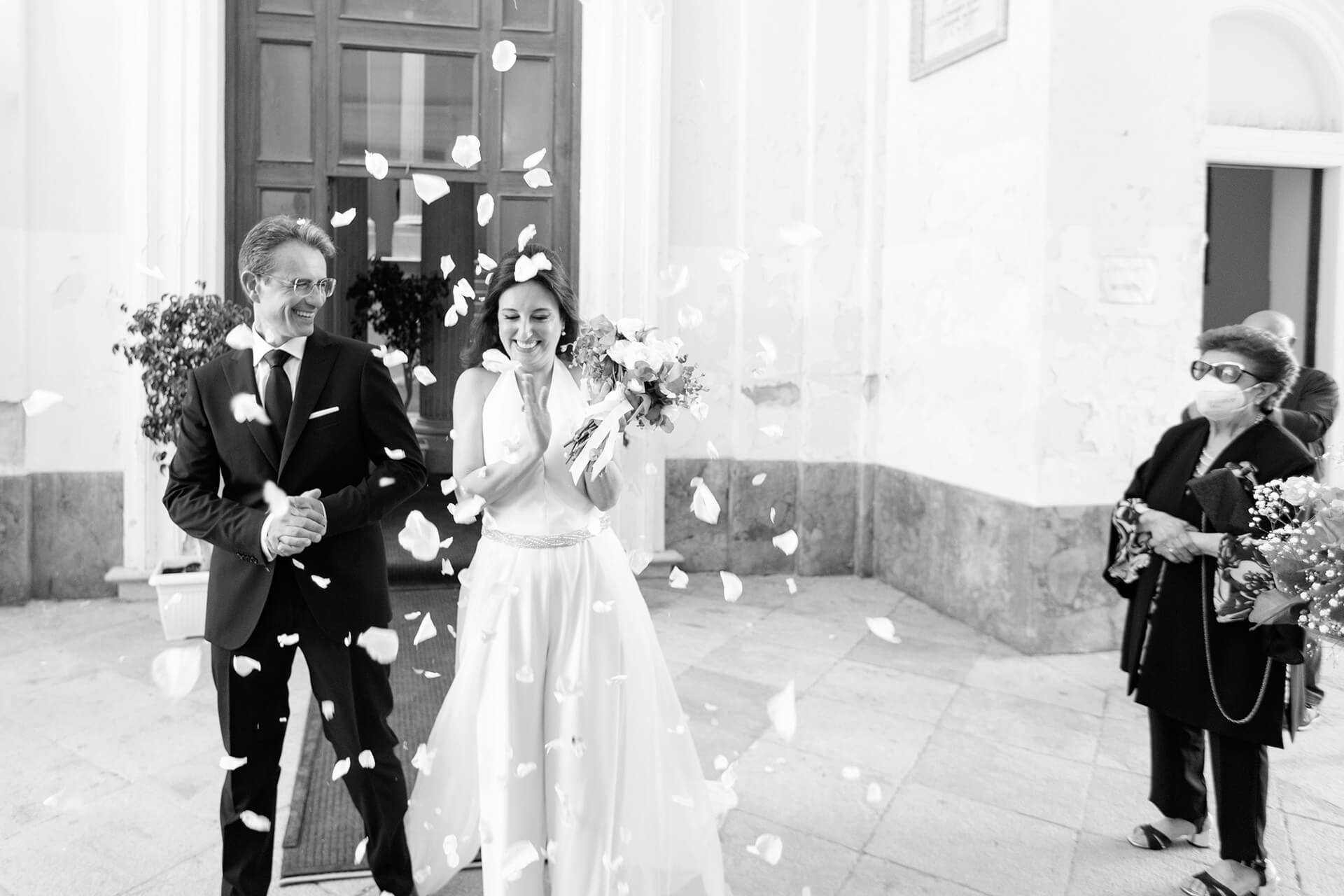 Wedding Photography for Sicily, Italian Image Pro | The emotion has passed and now there is the joy