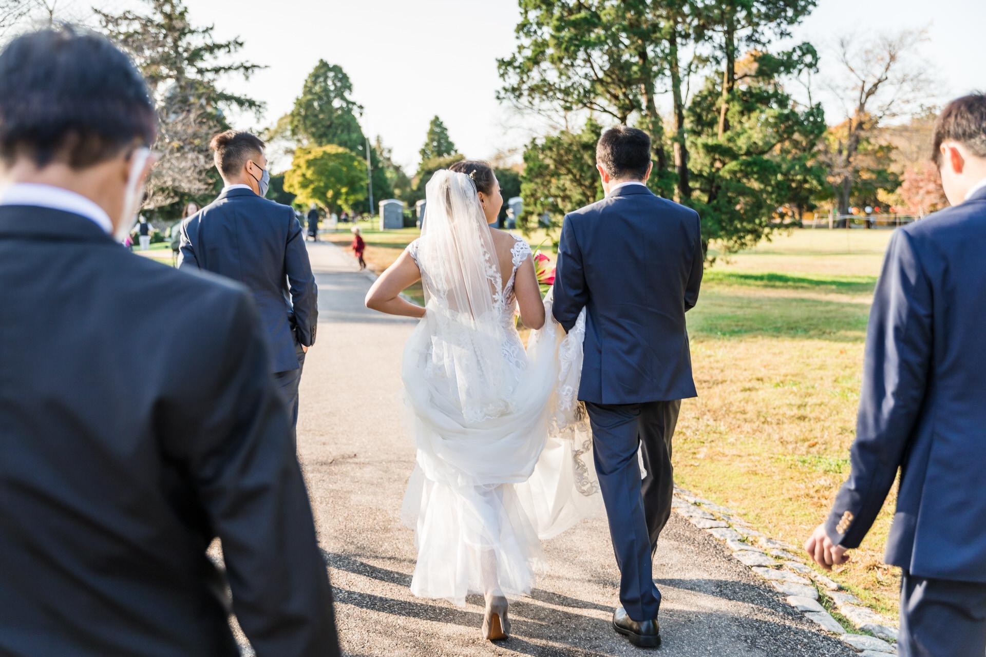 Photographe de mariage Maymont Virginie | Marcher ensemble à Maymont