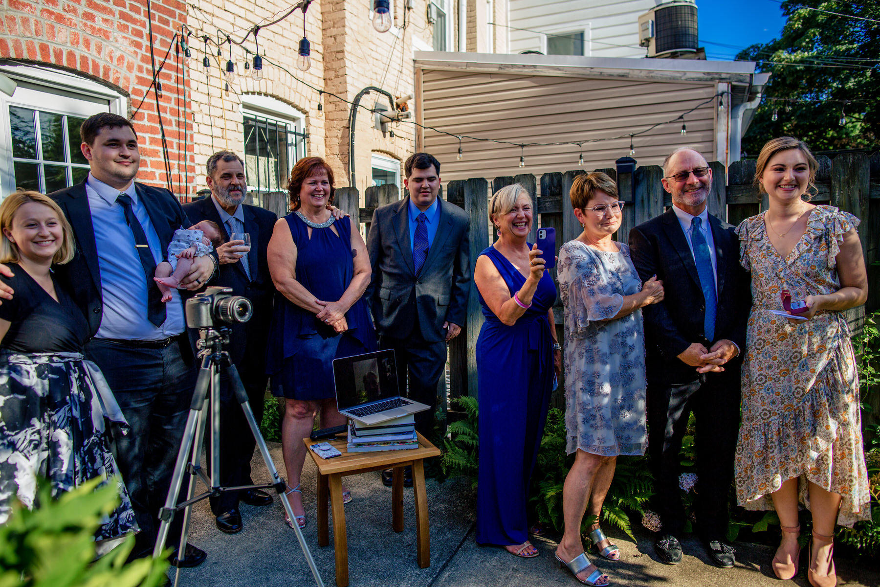 Weddings and Event Photography in Washington, DC | The family is ready to assist the elopement