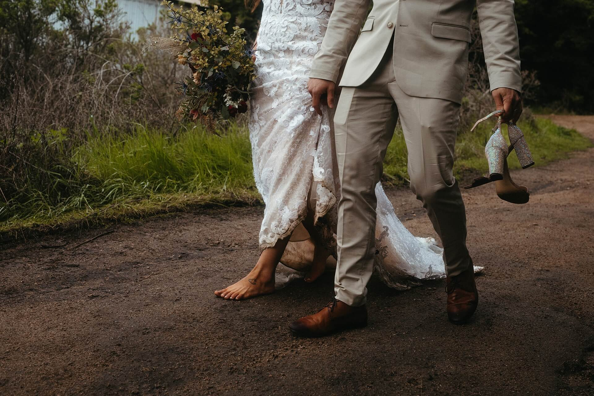 Big Sur Weddings by a California Photographer   they leave Garrapata as husband and wife