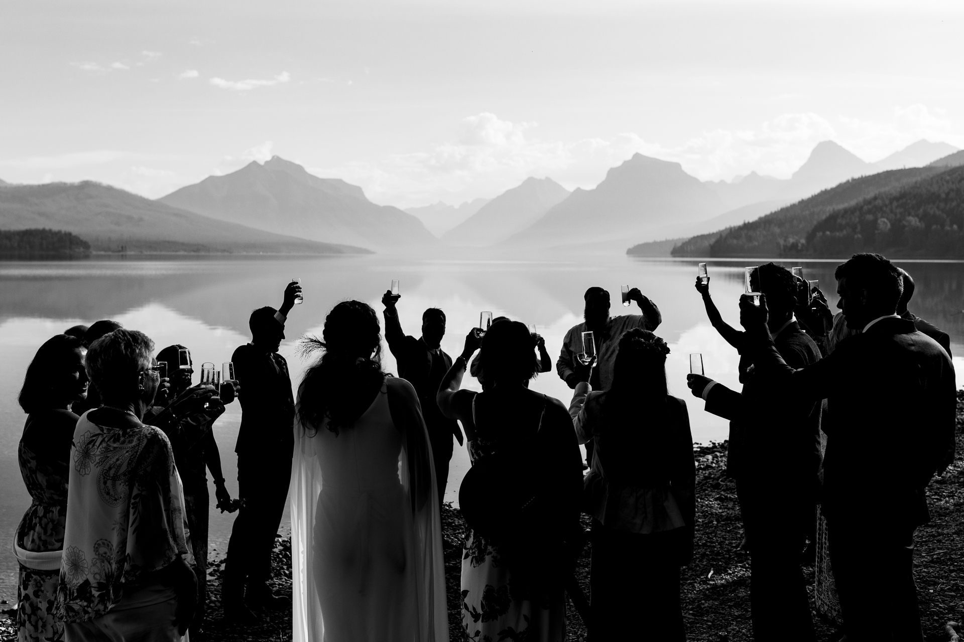 David Clumpner, of Montana, is a wedding photographer for Glacier Park, Montana