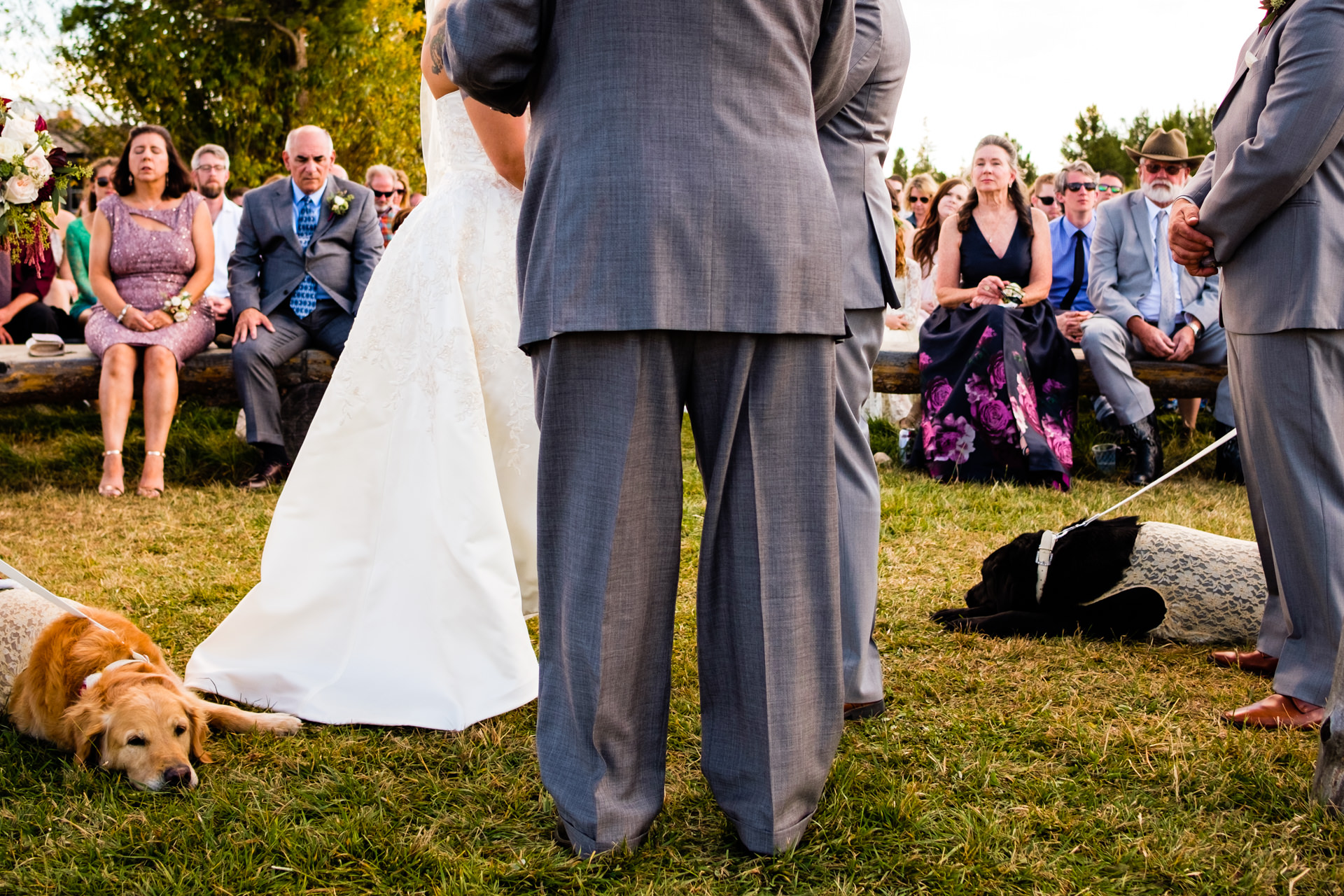 Kent Meireis, of Montana, is a wedding photographer for Grand Lake Colorado