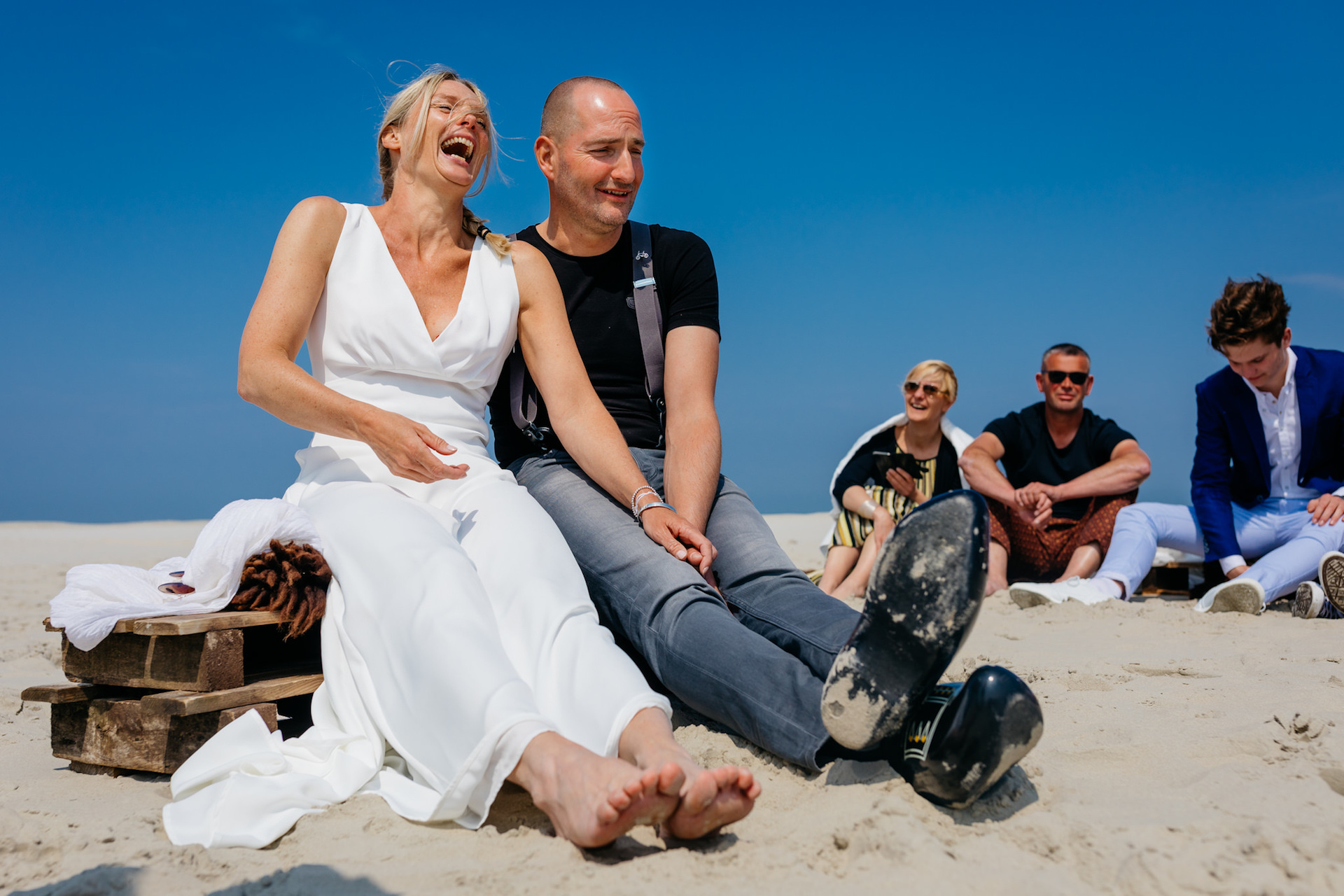 Leonard Walpot, of Utrecht, is a wedding photographer for Terschelling