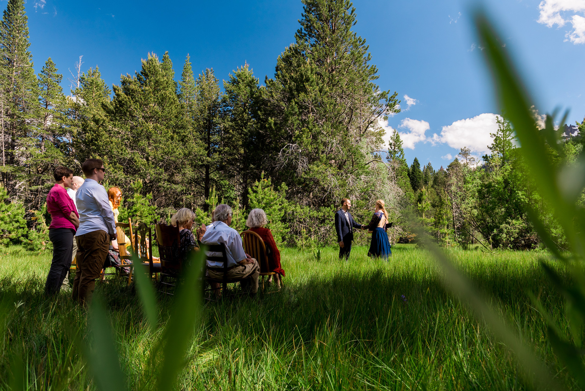 Lauren Lindley, of California, is a wedding photographer for Meadow outside South Lake Tahoe, CA