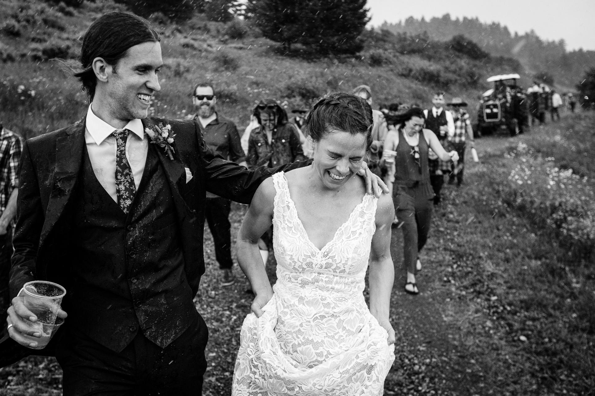 David Clumpner, of Montana, is a wedding photographer for Mountain Top near Bozeman, MT