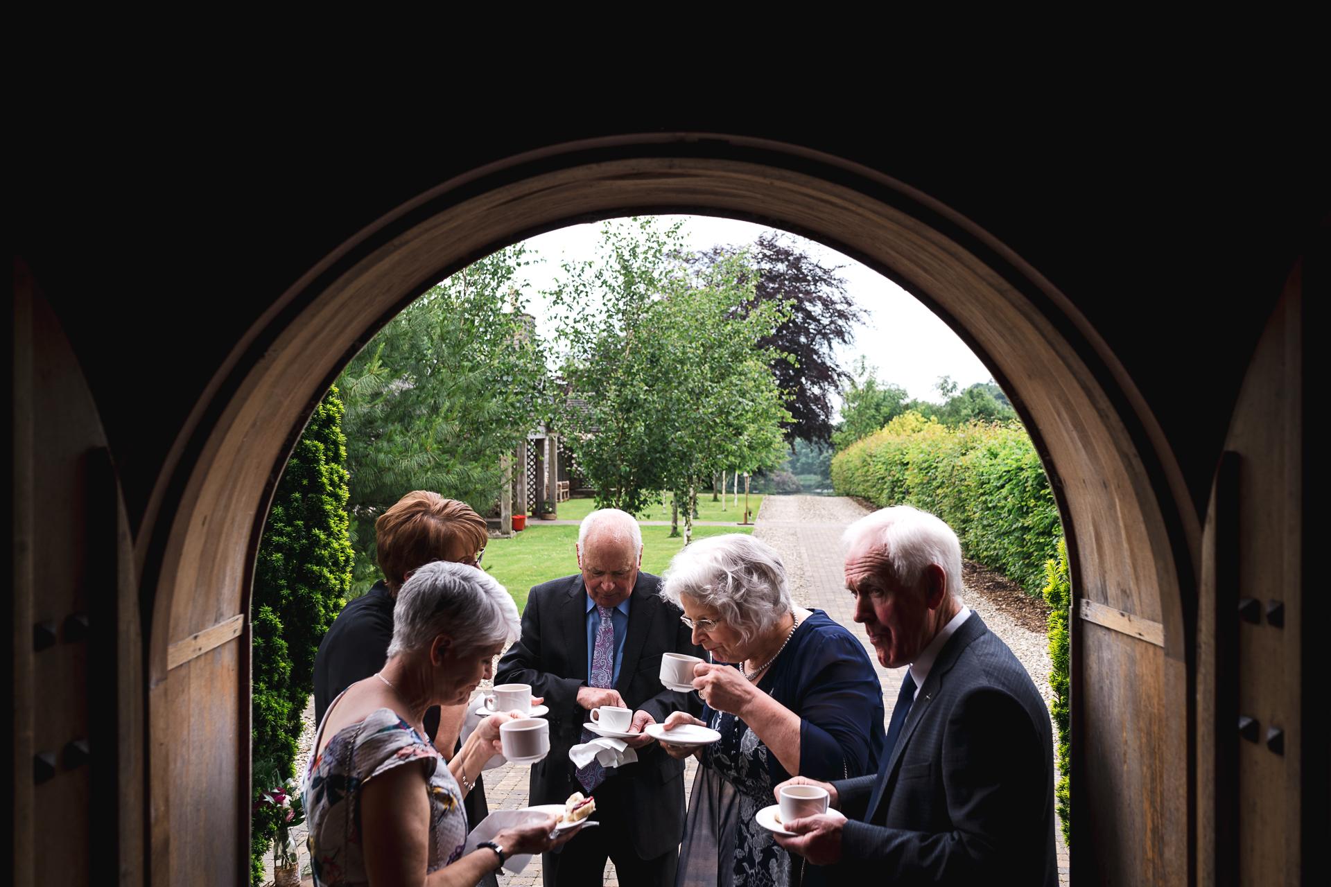 Rich Calver aus der Grafschaft Antrim ist Hochzeitsfotograf für Lissanoure Castle, Glens of Antrim