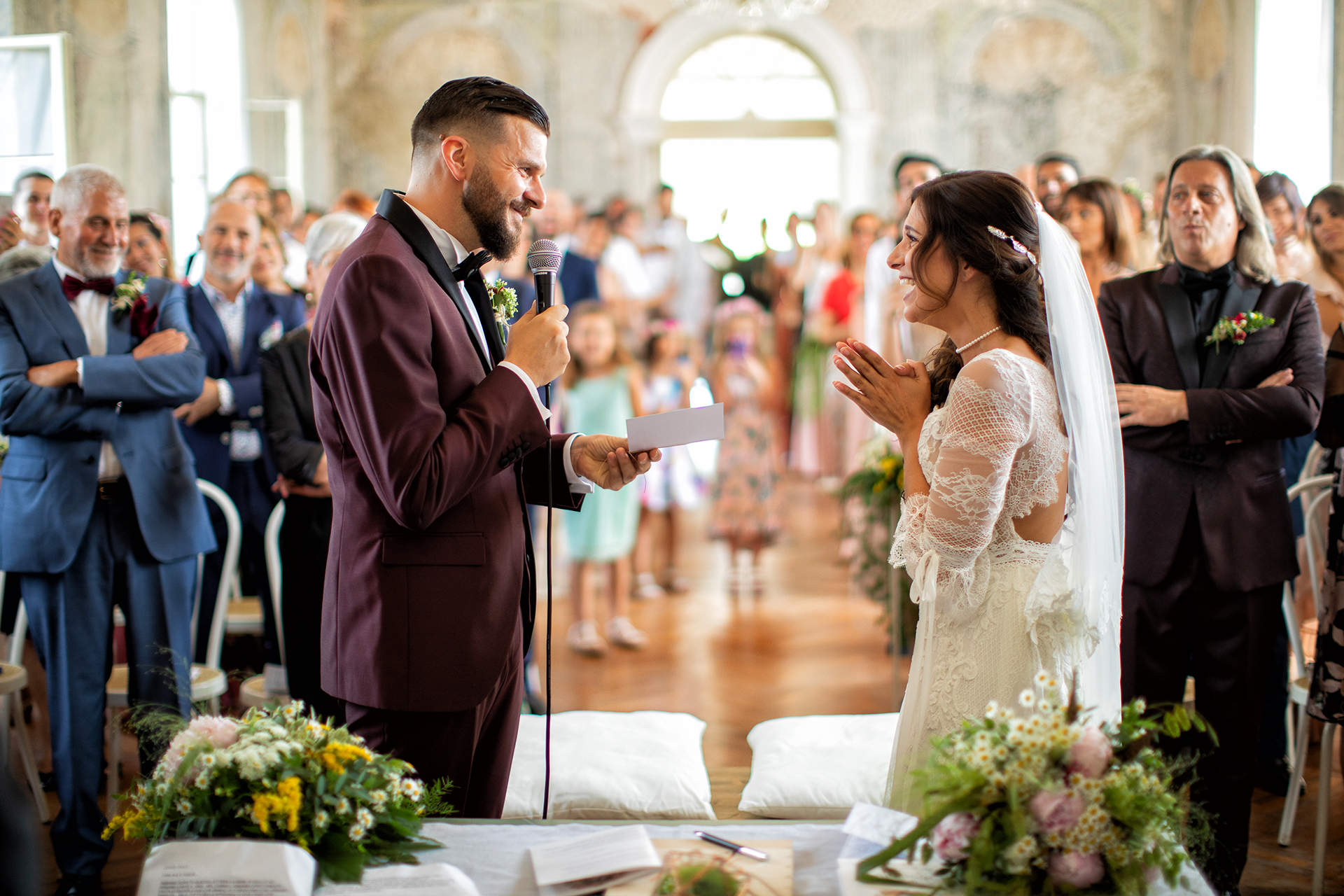 Daniele Borghello, of Padova, is a wedding photographer for Sagrado - Italy