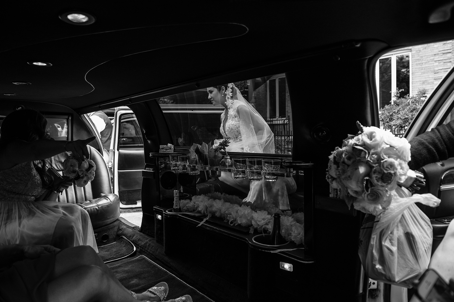 Adeline Leonti, of Quebec, is a wedding photographer for Place d'Armes Hotel, Montreal
