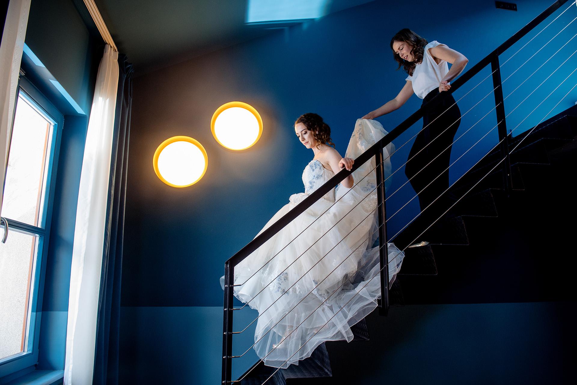 Melinda Guerini Temesi, di Budapest, è una fotografa di matrimoni per Budapest