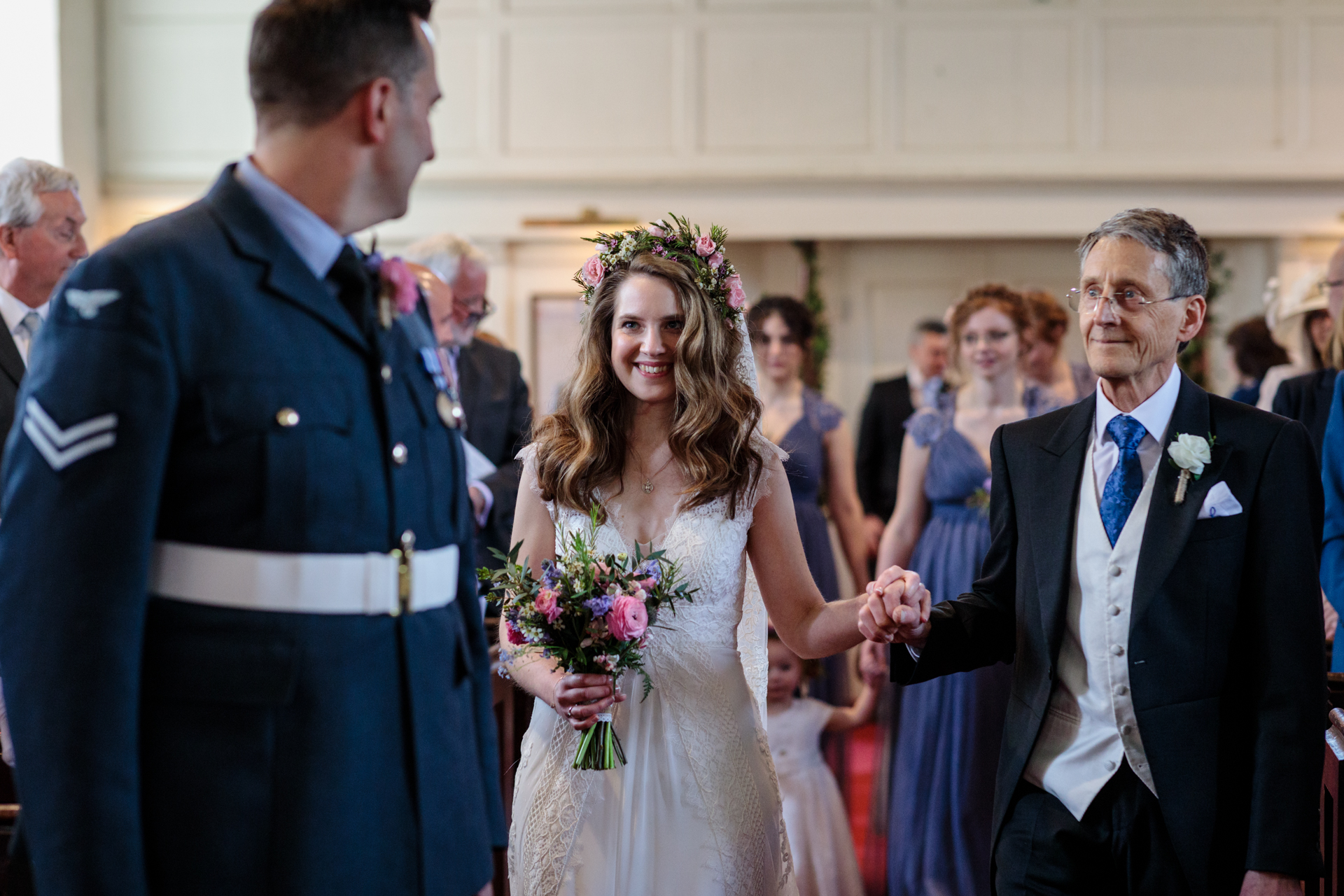 Catherine Hill, of Kent, is a wedding photographer for Petham Church, Petham, Kent, UK
