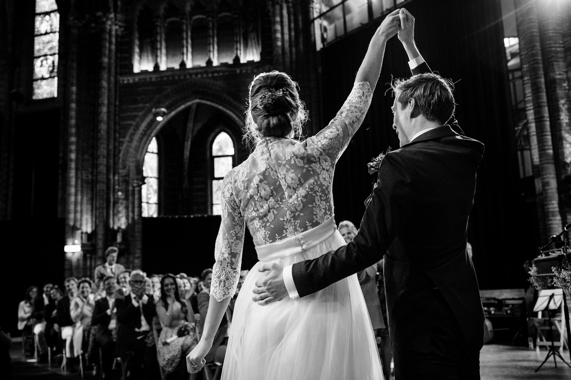 Leonard Walpot, of Utrecht, is a wedding photographer for Vondelkerk amsterdam