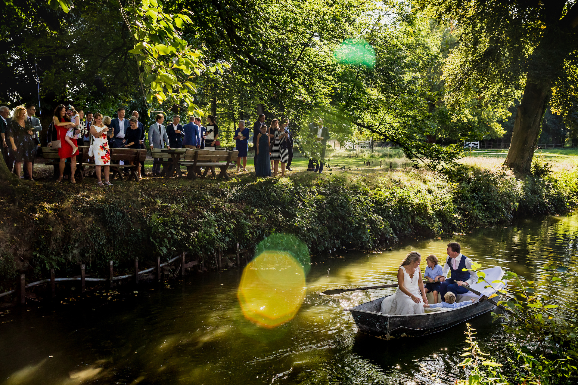 Kobe Vanderzande, of Limburg, is a wedding photographer for