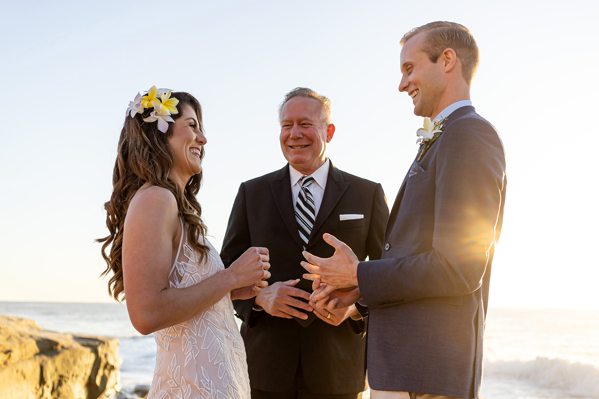 Shaun Baker, of California, is a wedding photographer for -