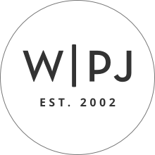 Wedding Photojournalist Association Logo - WPJA EST 2002 WHT